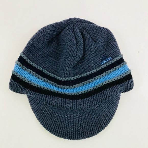 337d2b36 adidas Accessories   Climawarm Mens Blue Winter Hat   Poshmark